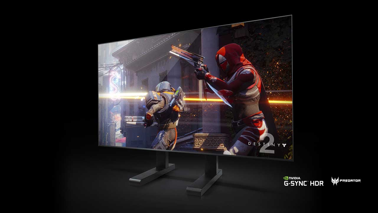Nvidia's Giant 4K Gaming Displays Have Shield Inside