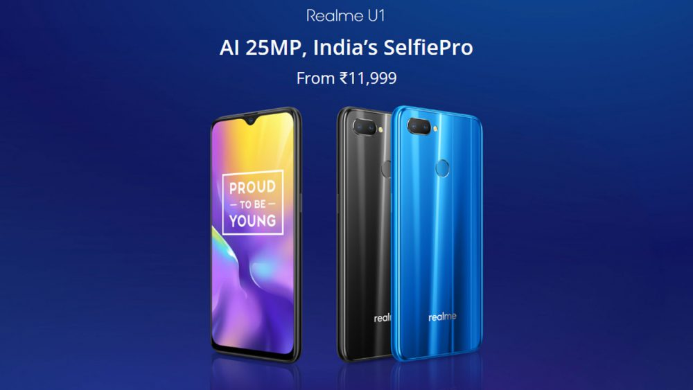 Realme U1 selfie phone launched in India, prices start INR ...