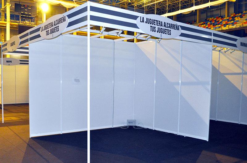 Stands modulares estndar para exposiciones ferias y