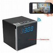 spy gadgets Toughsty™ 1920x1080P HD Portable P2P Wifi Hidden Camera Clock