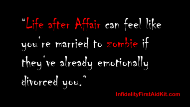 life after affair married to zombie