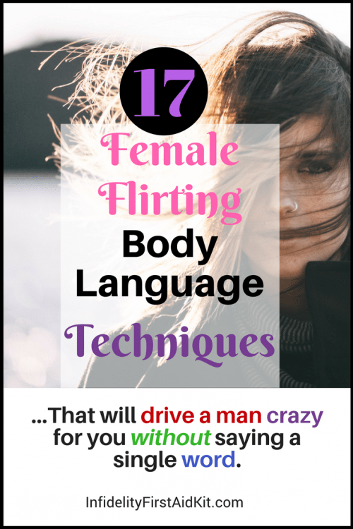 17 [Simple] Female Flirting Body Language [Secrets] to Attract Men
