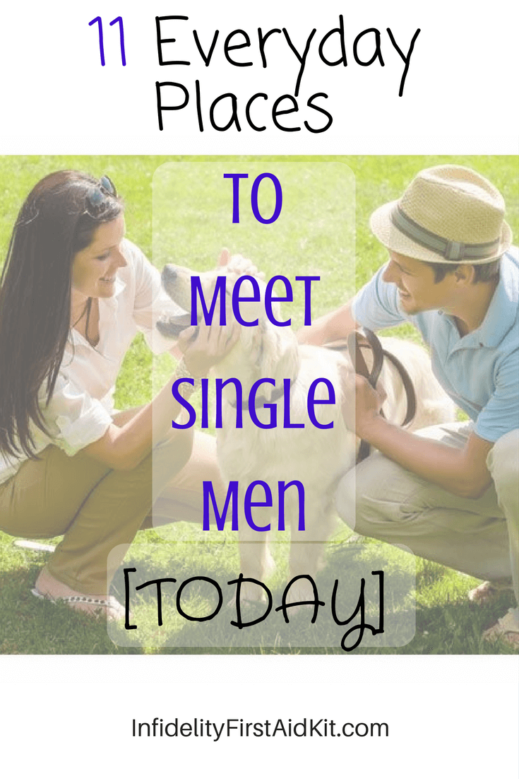 11 Everyday Places to Meet Single Men [TODAY] Women Over 40 Dating