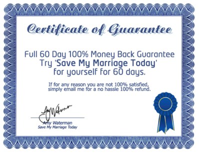 save my marriage today book money back guarantee
