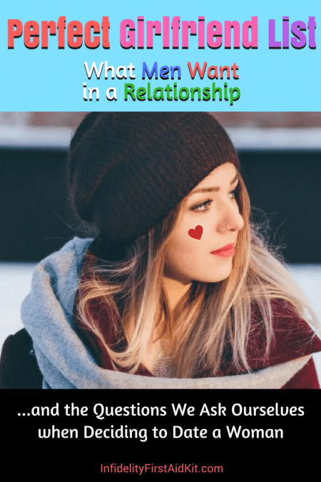 Perfect Girlfriend List: What Men Want in a Relationship [Free Download]