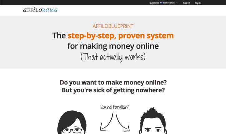 Affiloblueprint: how to make money blogging for beginners