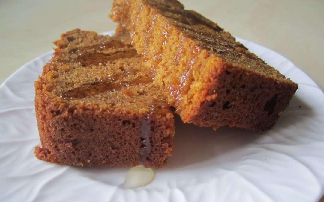 Maple Pumpkin Spice Bread