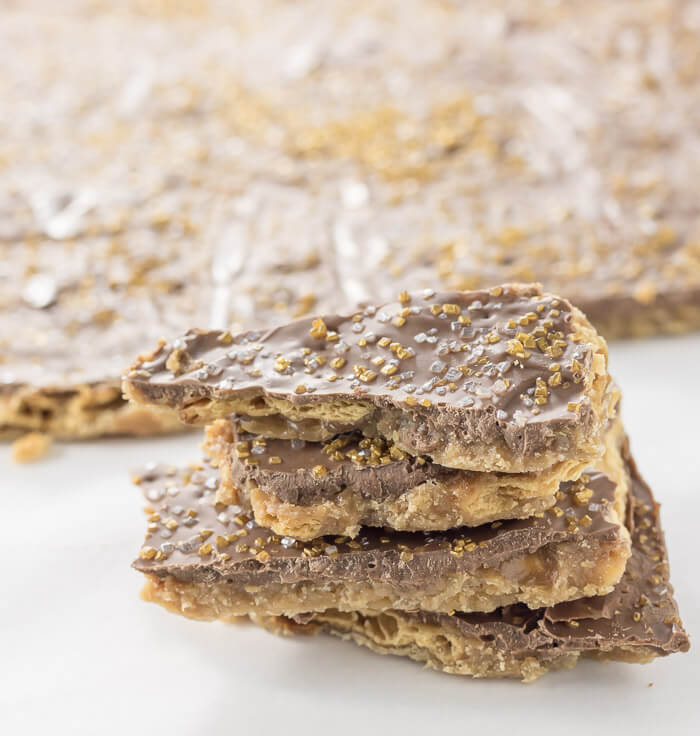 Chocolate Saltine Toffee | www.infinebalance.com