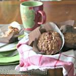 cranberry cashew muffins