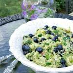 quinoa-blueberry-salad | www.infinebalance.com