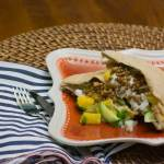 Lentil and Sweet Onion Pita | www.infinebalance.com