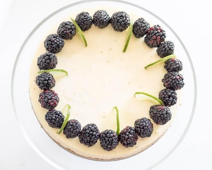 Key Lime Pie Cheesecake   The infinebalance food blog #recipe