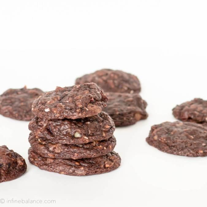Over-stuffed Chocolate Fudge Cookies