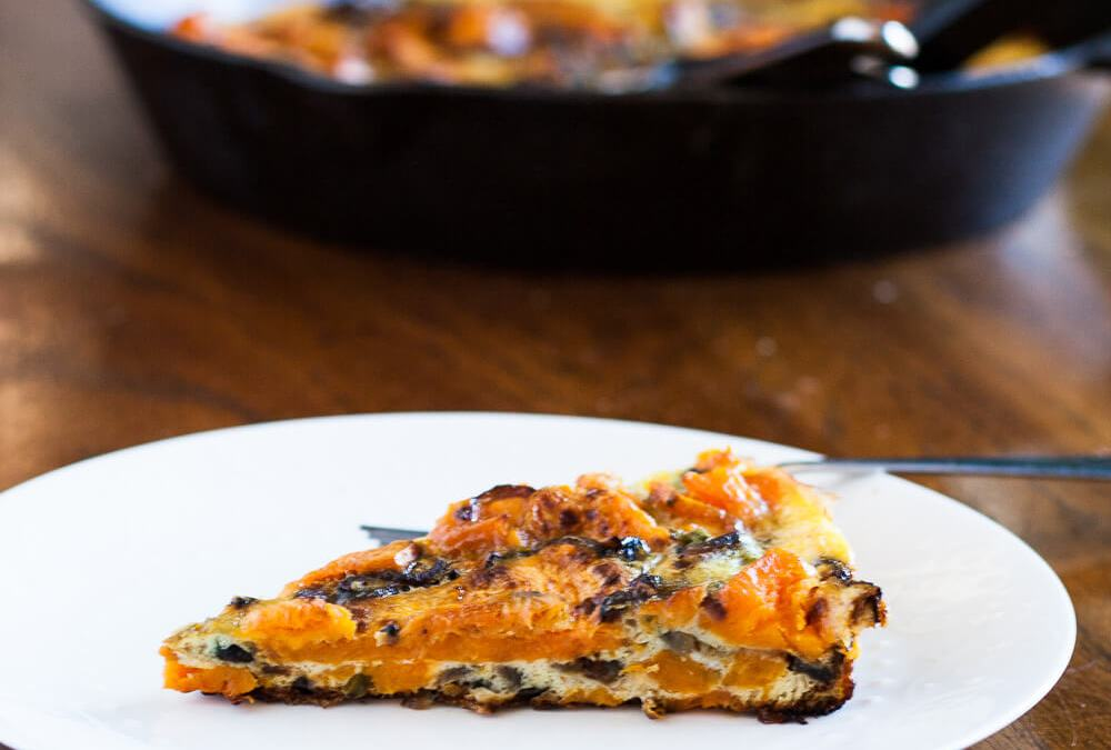 Roasted Sweet Potato Frittata