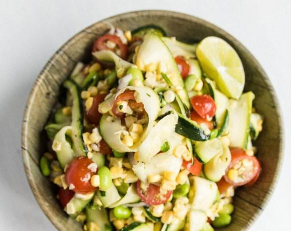 Sweet Corn and Zucchini Salad