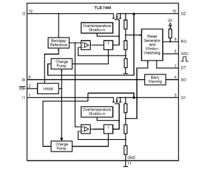 TLE7469G V52  Infineon Technologies