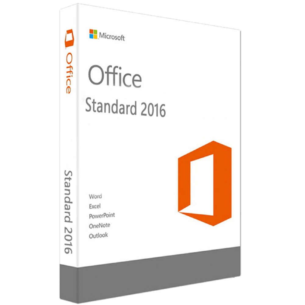 Microsoft Office Standard 2016 Para 1 Pc Licencia Retail