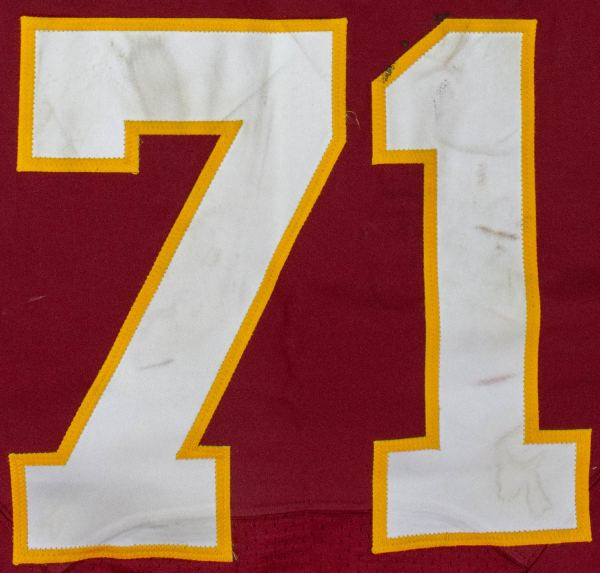 Trent Williams Washington Redskins Nike Jersey Year of Clean Water