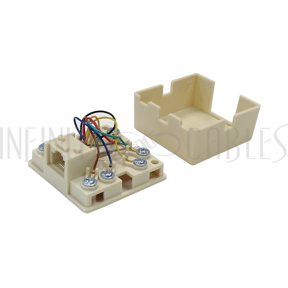 medium resolution of rj31x rj45 surface with 2ft rj45 to spade lug cable