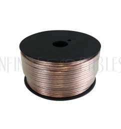 bk spz14 100 100ft 2c 14awg zip cord bulk speaker wire  [ 1000 x 1000 Pixel ]
