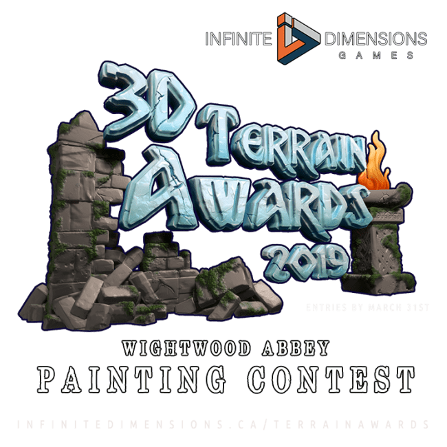 3D Terrain Awards Logo