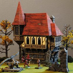 Wightwood Abbey Painting Contest sample entry