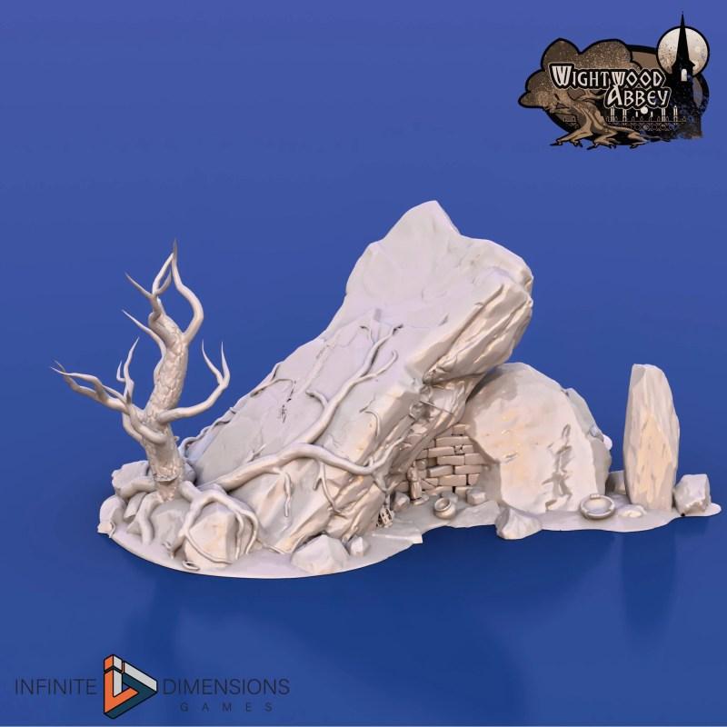 3D printable ancient tomb