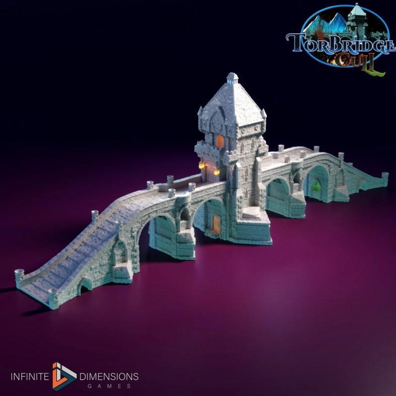 3d printable medieval bridge