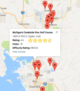 Infinite Courses Locater - Map View