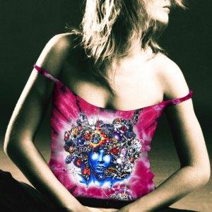 Door Ways Tank Top - Women's pink tie dye, 100% cotton sleeveless tank top.