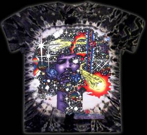 Haze - Inspired by Jimi Hendrix T-shirt