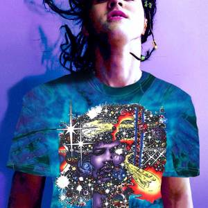 Jimi Hendrix T-shirt Men's Inspired Haze