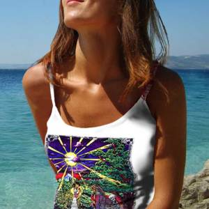 Grateful Dead Tank Top Women's Inspired - Inspiration