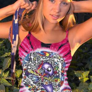 Jerry Garcia Tank Top Women's Inspired Mr. Fantasy
