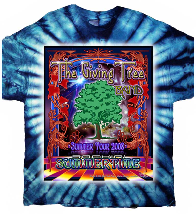 The Giving Tree Band T-shirt Design