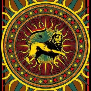 Rasta Lion Sticker