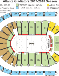 Infinite energy arena seating chart atlanta gladiators center also frodo fullring rh