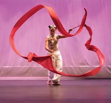 ribbon dance of empowerment
