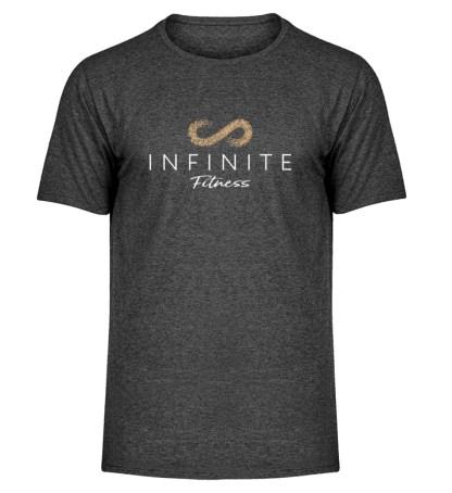 Infinite Fitness T-Shirt - Herren Melange Shirt-6808