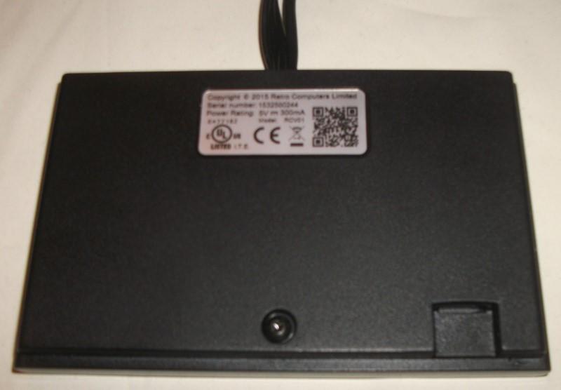 ZX Spectrum Vega Rear