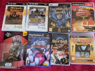 Games haul