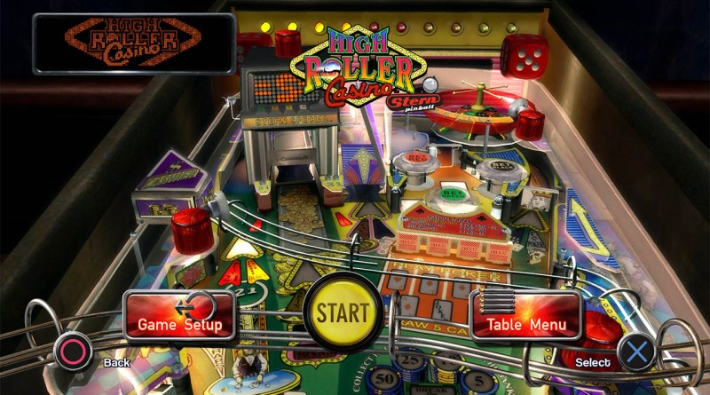 Pinball Arcade - High Roller Casino