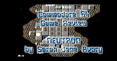 Retro Game Review: Neutron (Commodore 64)