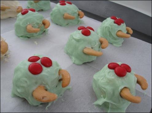 Metroid Cake Balls