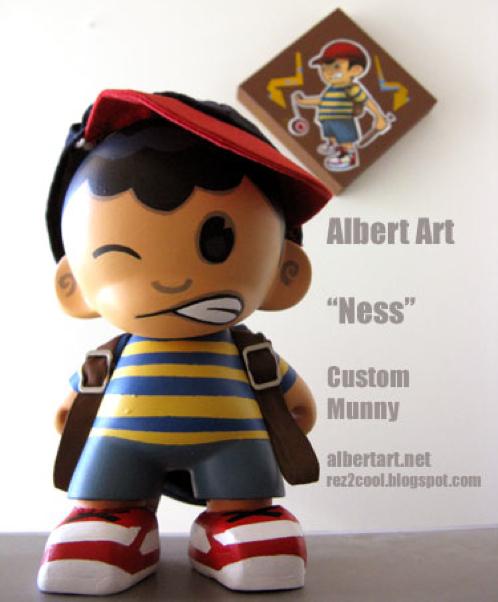 Ness munny custom