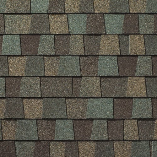 Cedar Falls multi color shingle picture