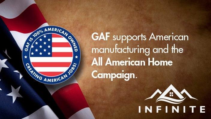Infinite Roofing is GAF Certified