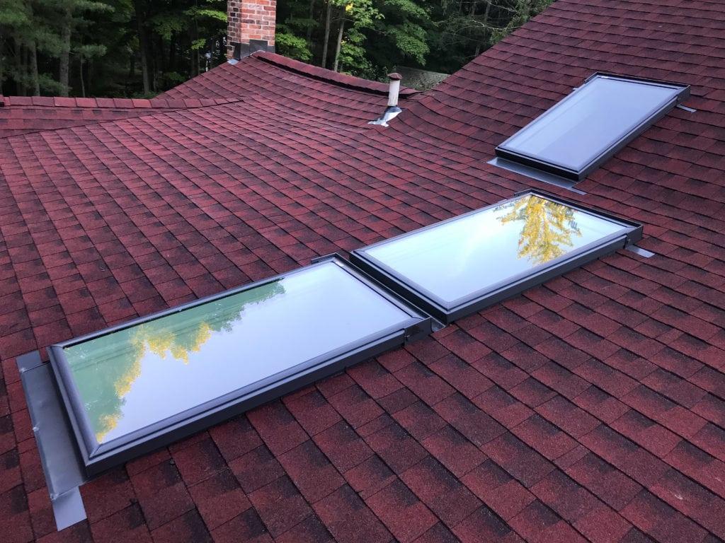 deck mounted skylight