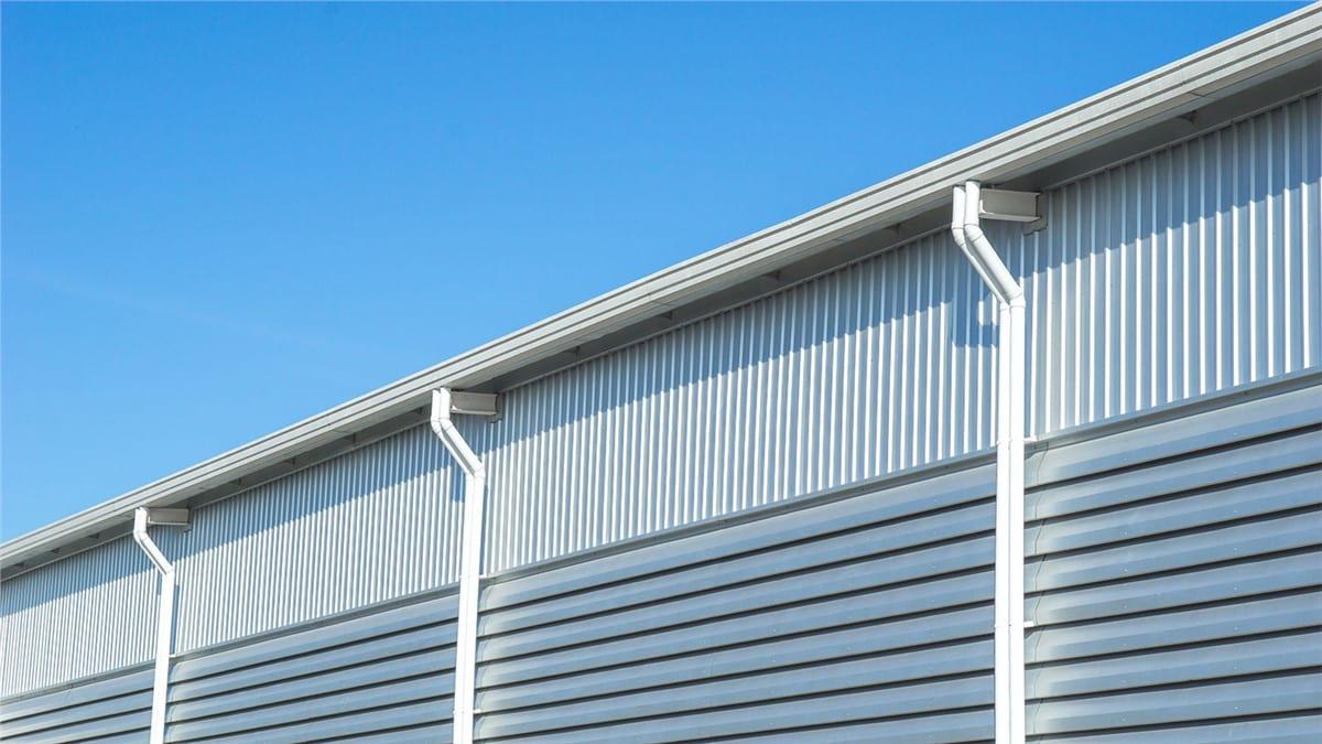Flat Roof Gutter