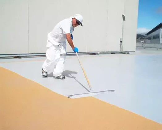 Liquid-Applied Roof Membrane